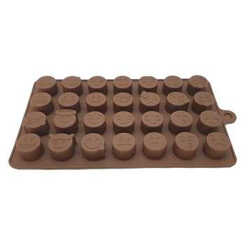 قالب شکلات مدل GlA-02 طرح ایموجی
