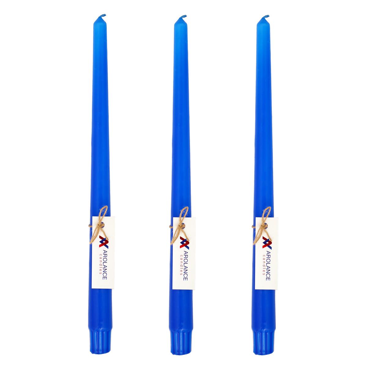 شمع آرولنس طرح قلمی مدل L30 بسته 3 عددی
