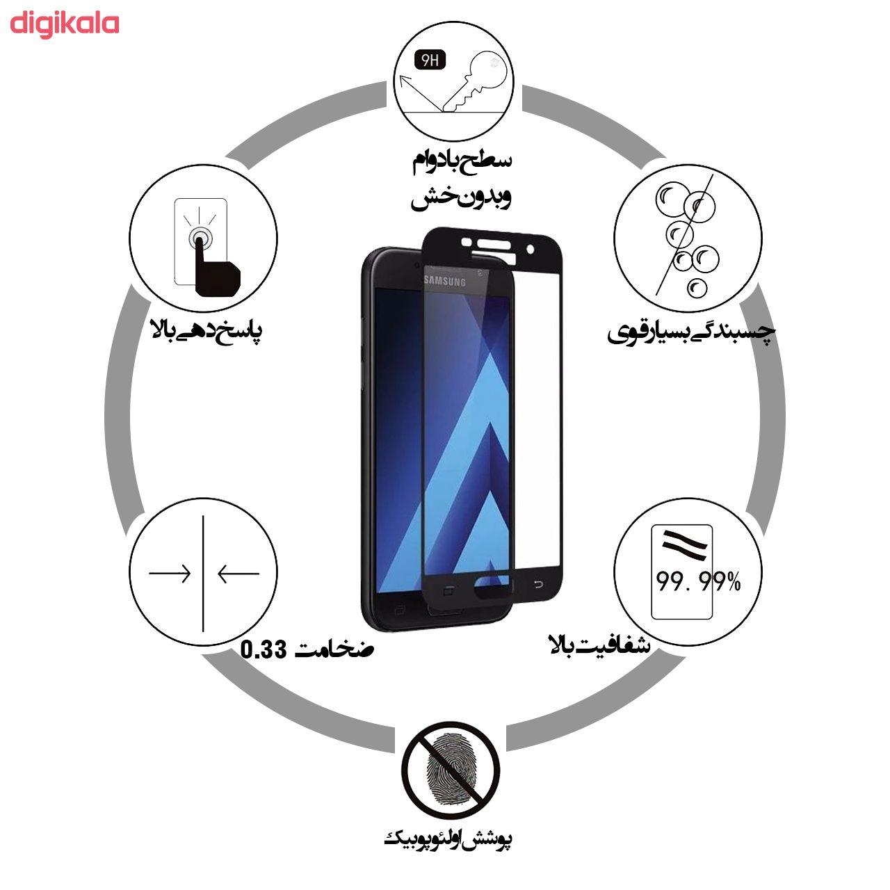خرید اینترنتی با تخفیف ویژه محافظ صفحه نمایش دبو مدل RS9A مناسب برای گوشی موبایل سامسونگ Galaxy A7 2017