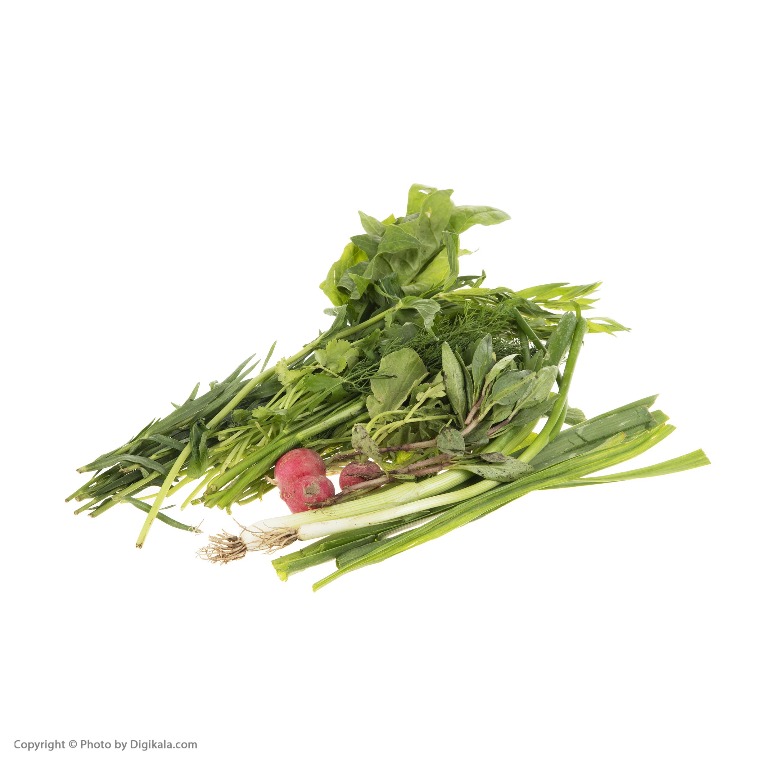 سبزی خوردن ارگانیک رضوانی – 200 گرم