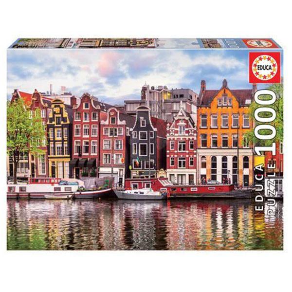 پازل 1000 تکه ادوکا مدل DANZANTES HOUSE, AMSTERDAM