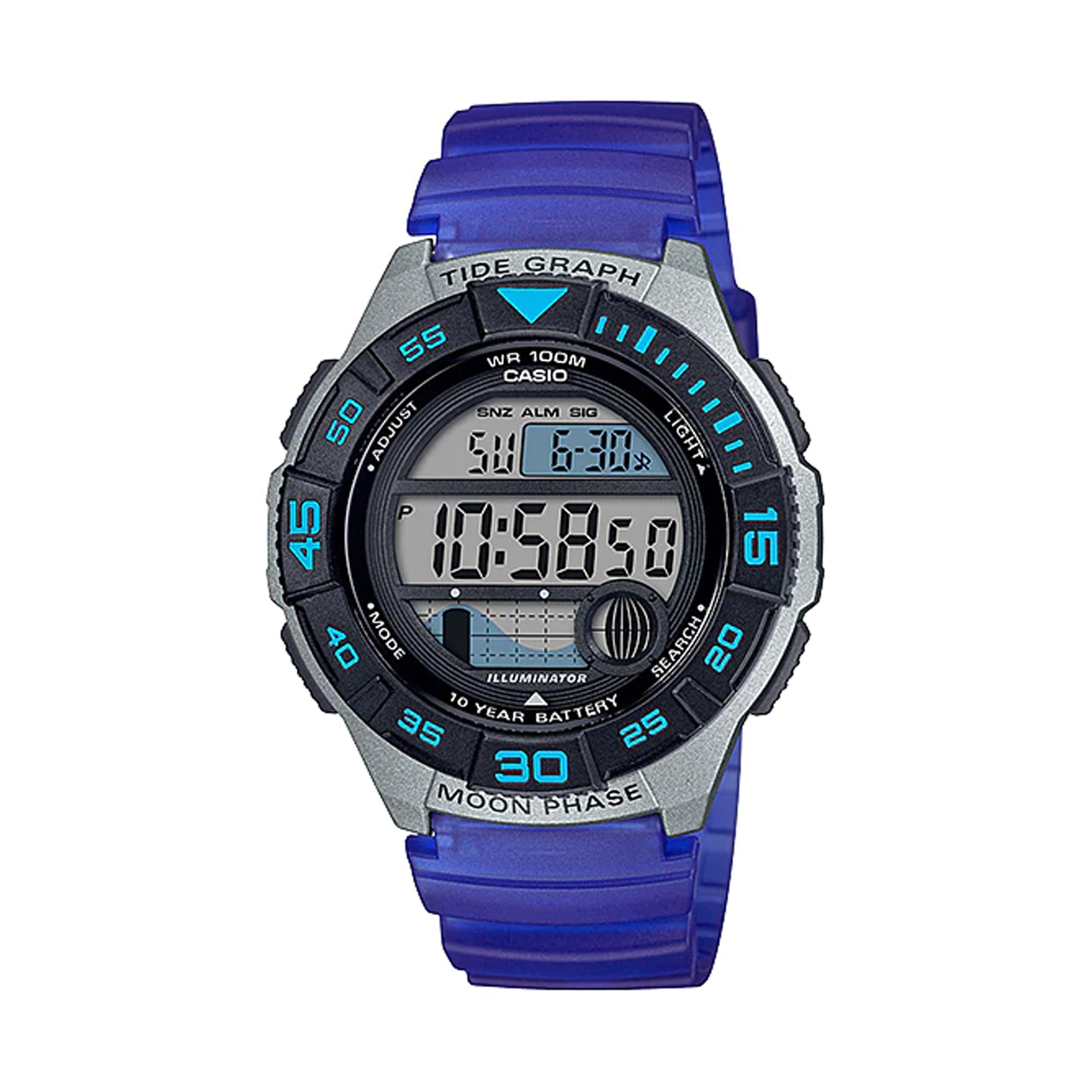 قیمت و خرید                      ساعت مچی دیجیتال مردانه کاسیو مدل WS-1100H-2AVDF