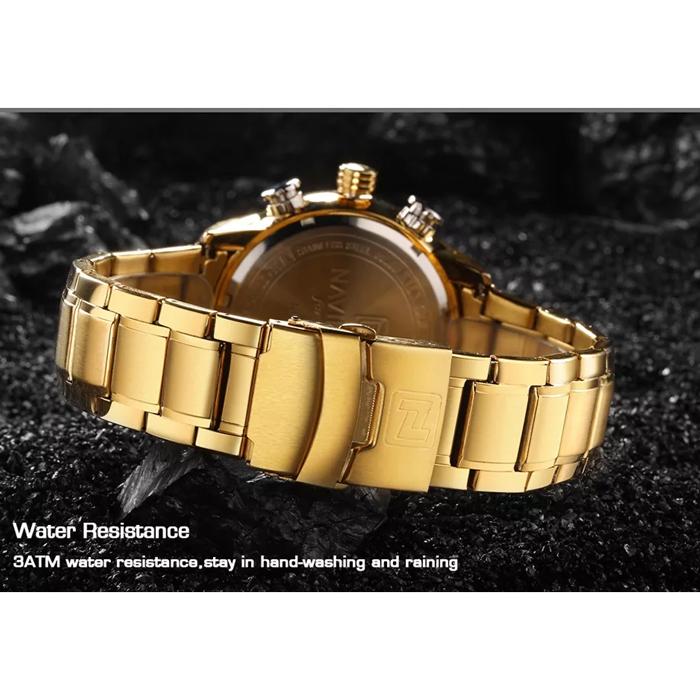 قیمت و خرید                      ساعت مچی عقربه ای مردانه نیوی فورس مدل NF9161M- TA-TA