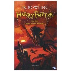 کتاب  Harry Potter and the Order of the Phoenix اثر j.k rowling انتشارات زبان مهر