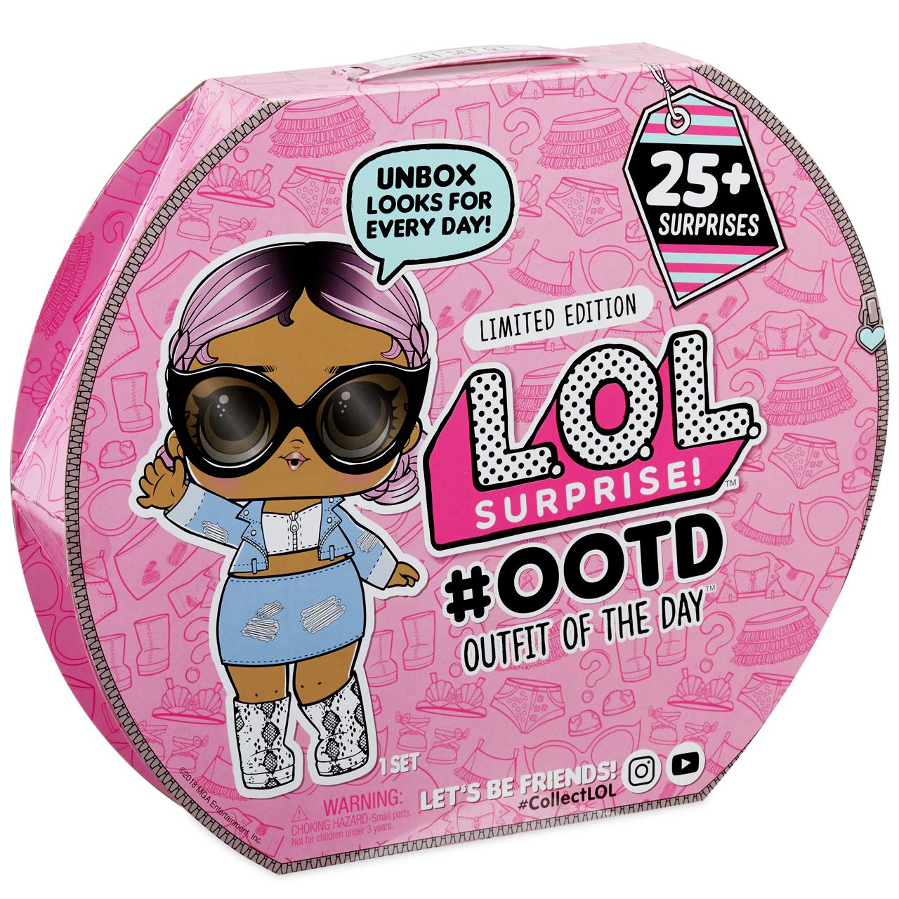 اسباب بازی شانسی ال او ال سورپرایز مدل OOTD کد 555742