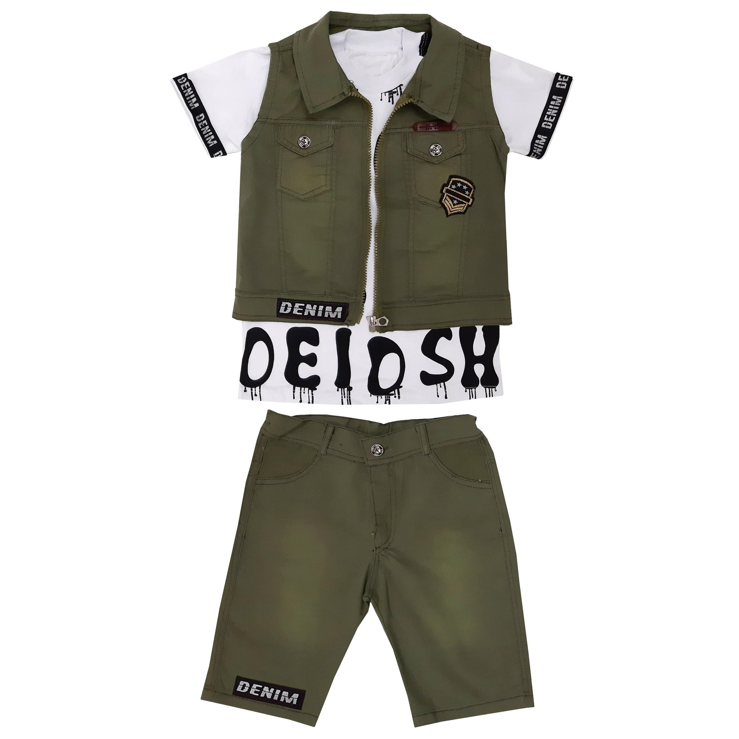ست 3 تکه لباس پسرانه کد ZEYT11