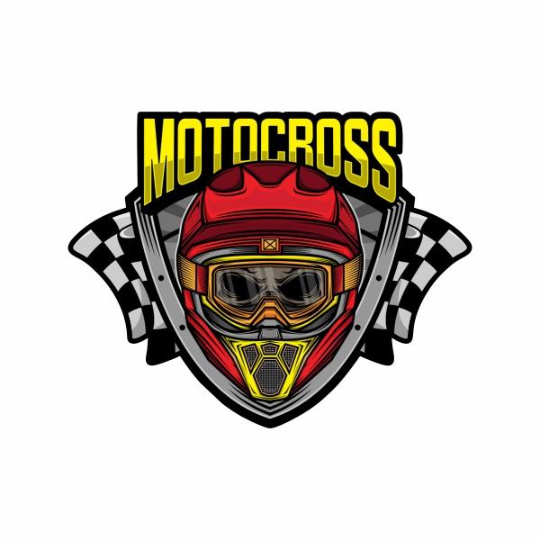 برچسب بدنه موتور سیکلت طرح MOTOCROSS کد 105