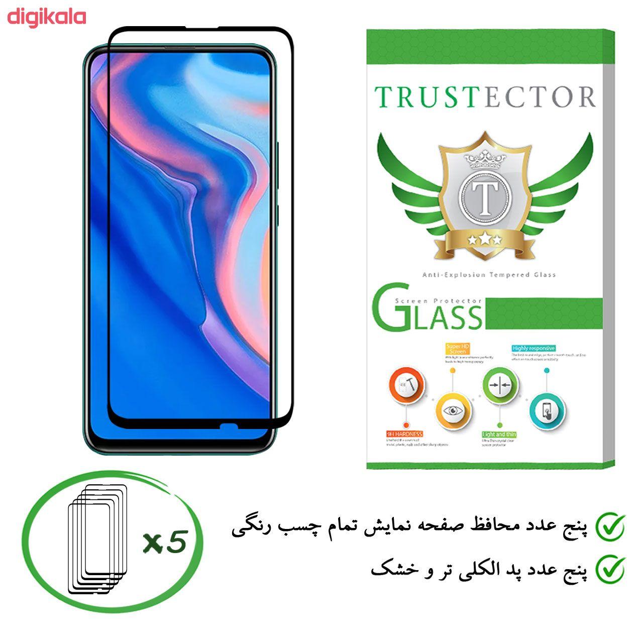 محافظ صفحه نمایش تراستکتور مدل GSS مناسب برای گوشی موبایل هوآوی Y9 Prime 2019 بسته 5 عددی main 1 1
