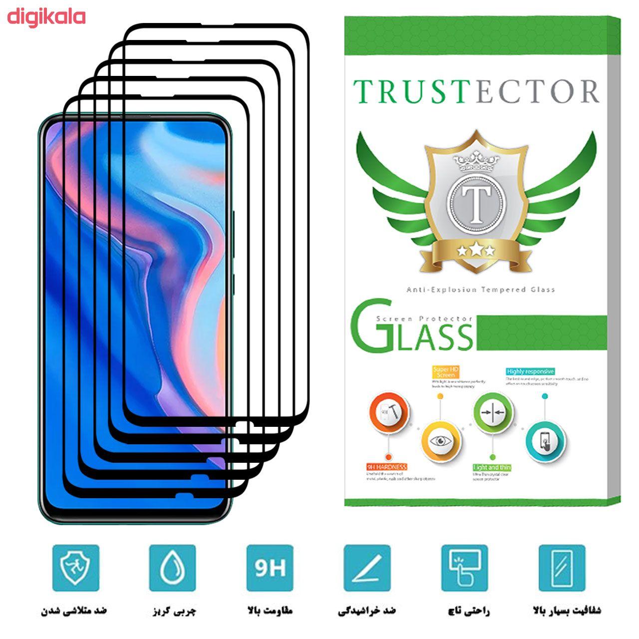 محافظ صفحه نمایش تراستکتور مدل GSS مناسب برای گوشی موبایل هوآوی Y9 Prime 2019 بسته 5 عددی main 1 2