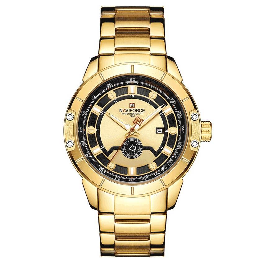 ساعت مچی عقربه ای مردانه نیوی فورس مدل NF9166M- TA-TA              خرید (⭐️⭐️⭐️)