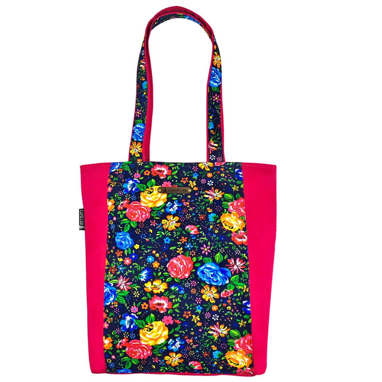 خرید                      کیف رو دوشی سدروس مدل رز هفت رنگ