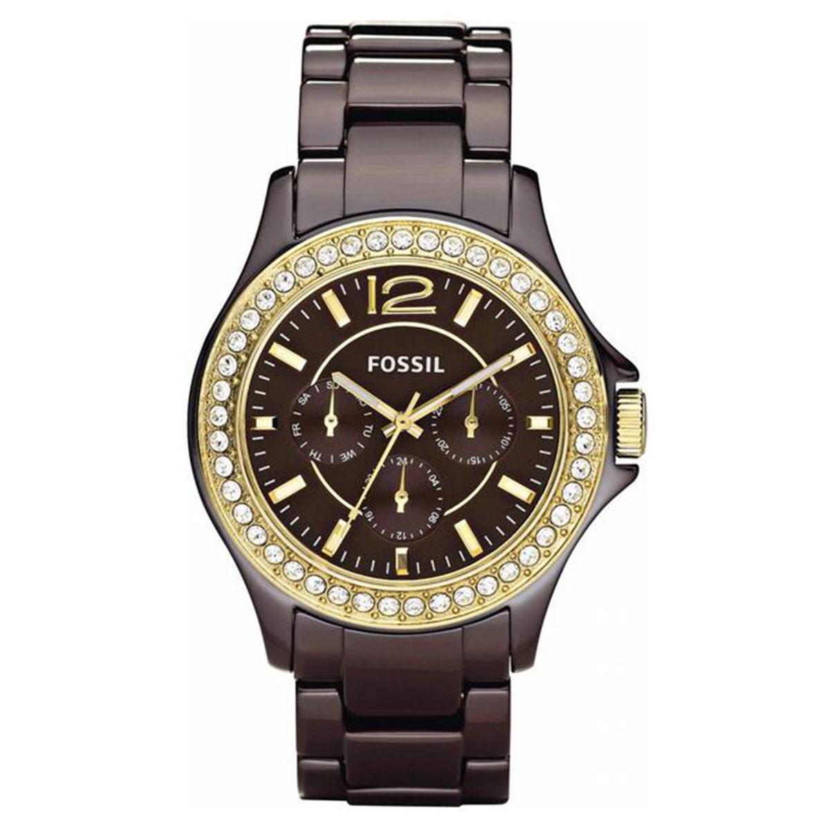 ساعت مچی عقربه ای زنانه فسیل مدل CE1044              ارزان