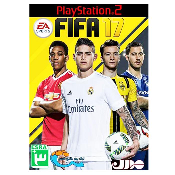 خرید اینترنتی بازی FIFA 17 مخصوص PS2 اورجینال