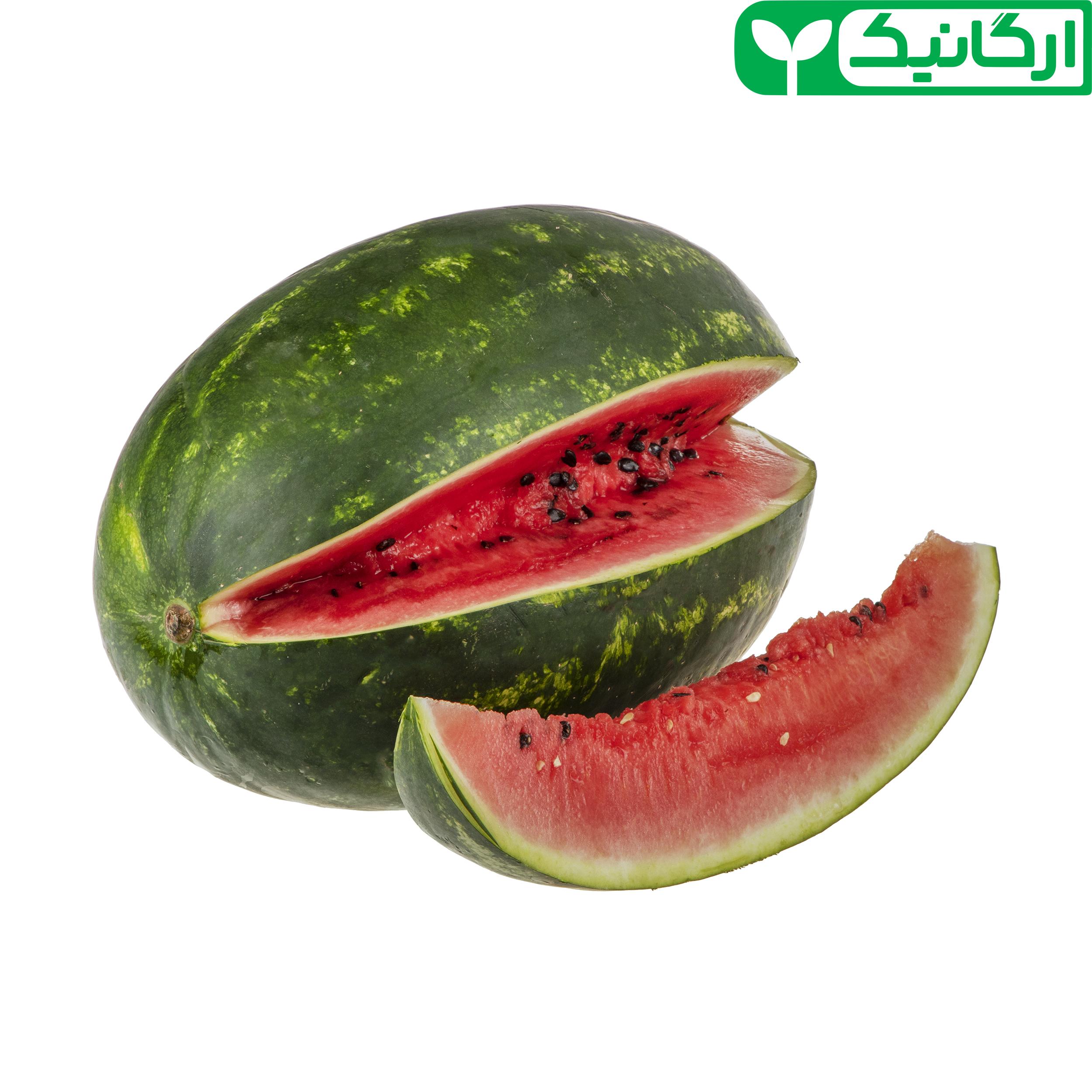 هندوانه ارگانیک رضوانی – 7 کیلوگرم