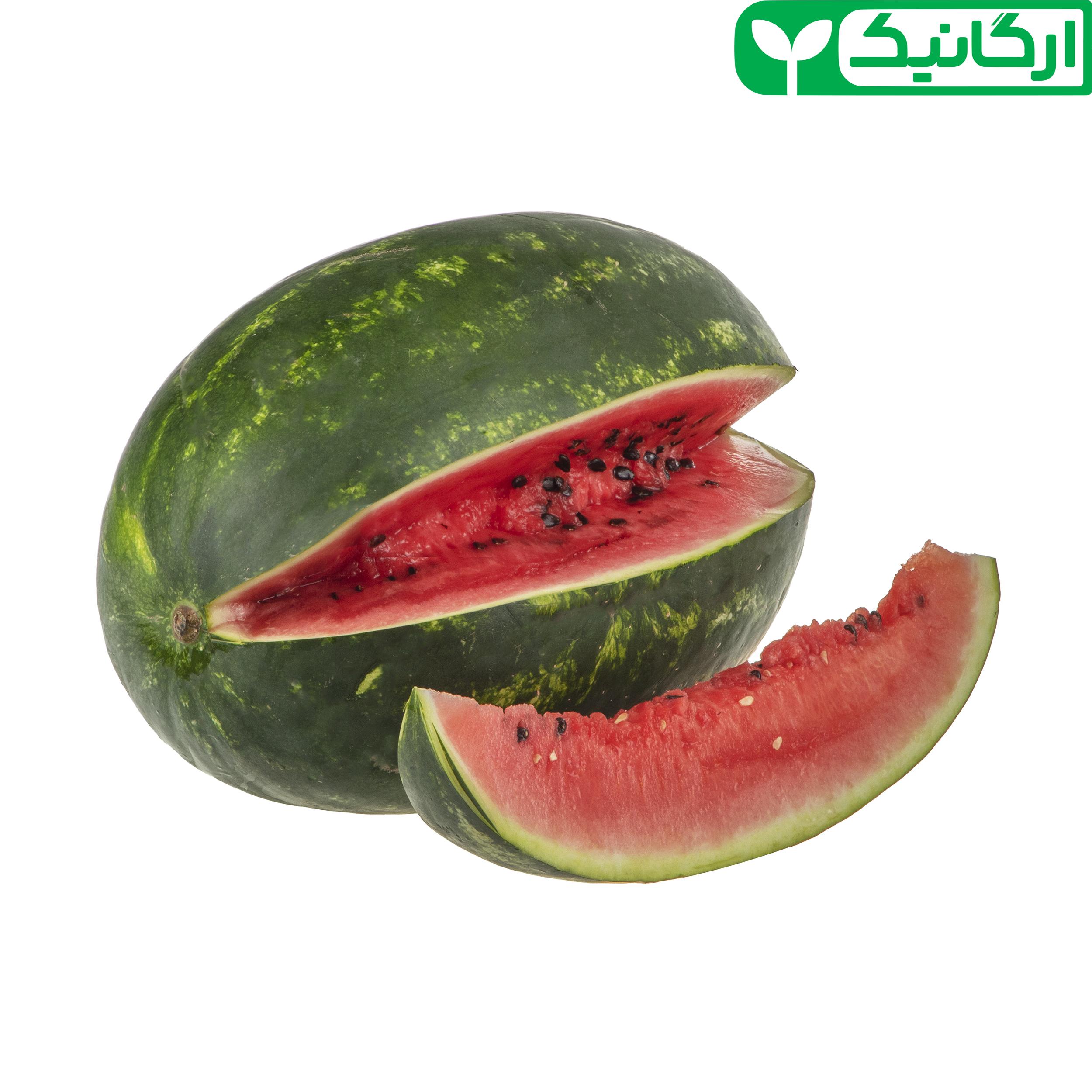 هندوانه ارگانیک رضوانی – 8 کیلوگرم