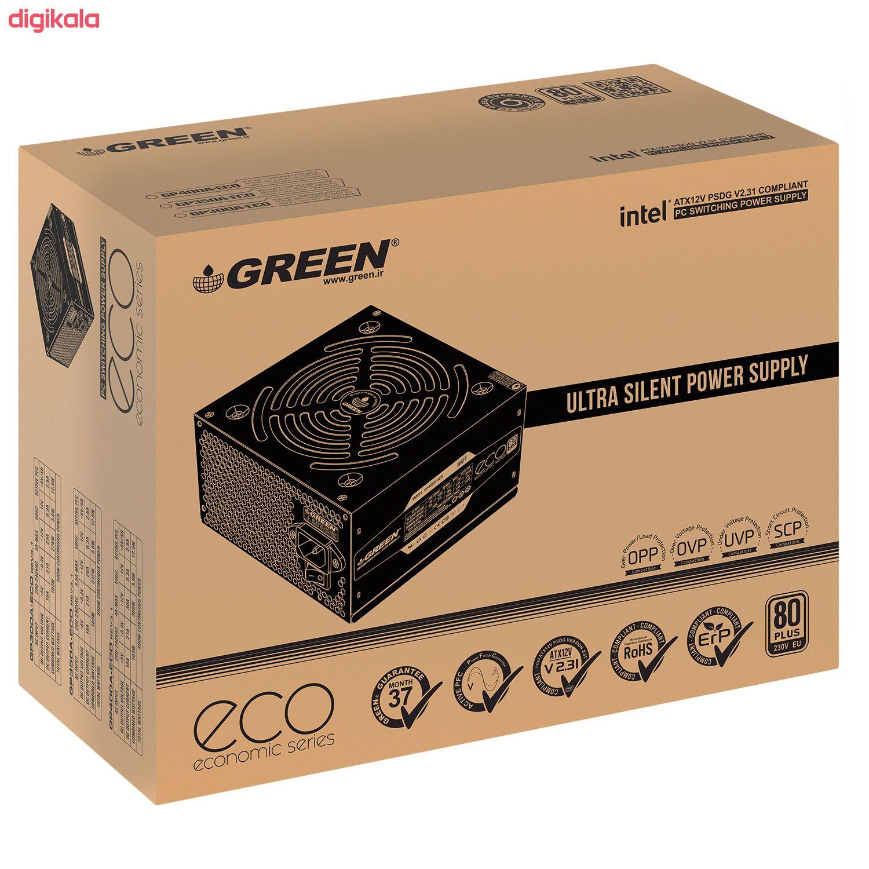 منبع تغذیه گرین مدل GP350A-ECO Rev3.1 main 1 6