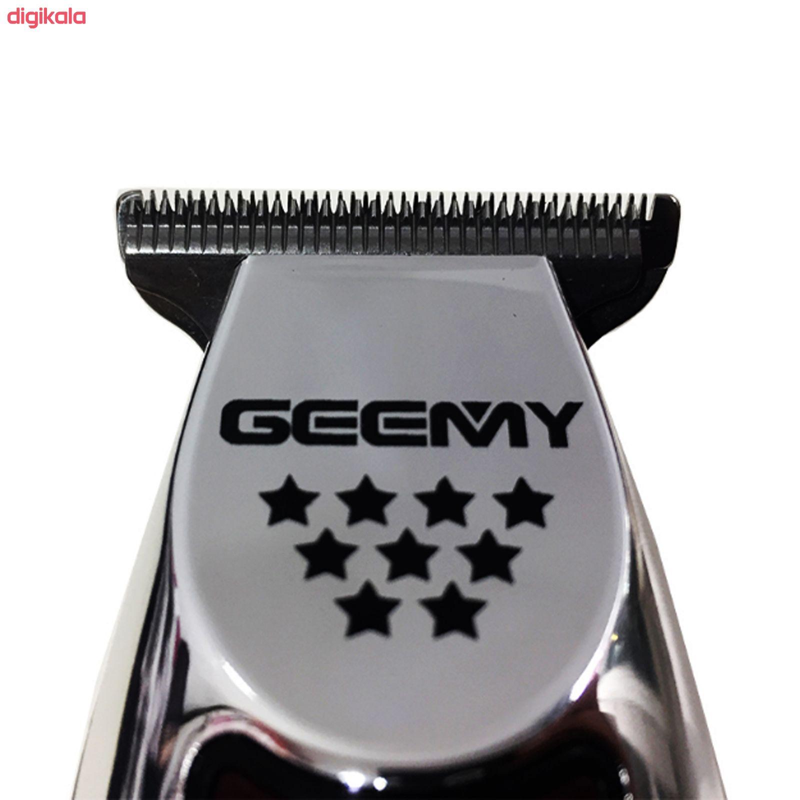 ماشین اصلاح موی سر و صورت جیمی مدل GM 855 main 1 1