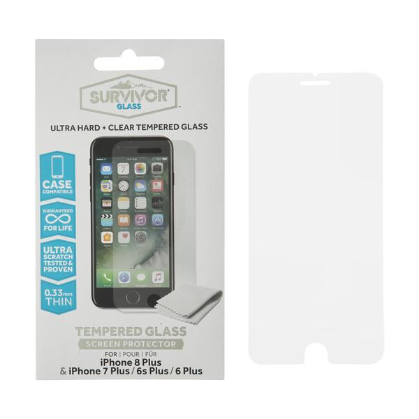 محافظ صفحه نمایش گریفین مدل Survivor مناسب برای گوشی اپل Iphone 8plus/7plus/6splus/6plus