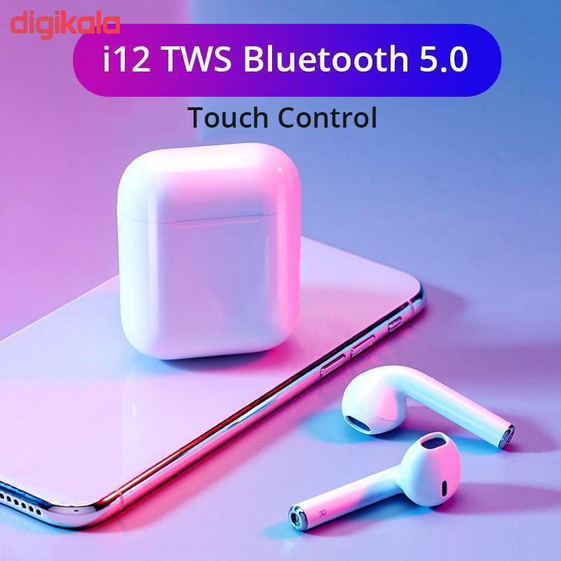 هدفون بیسیم مدل 01 -i12 - TWS main 1 4
