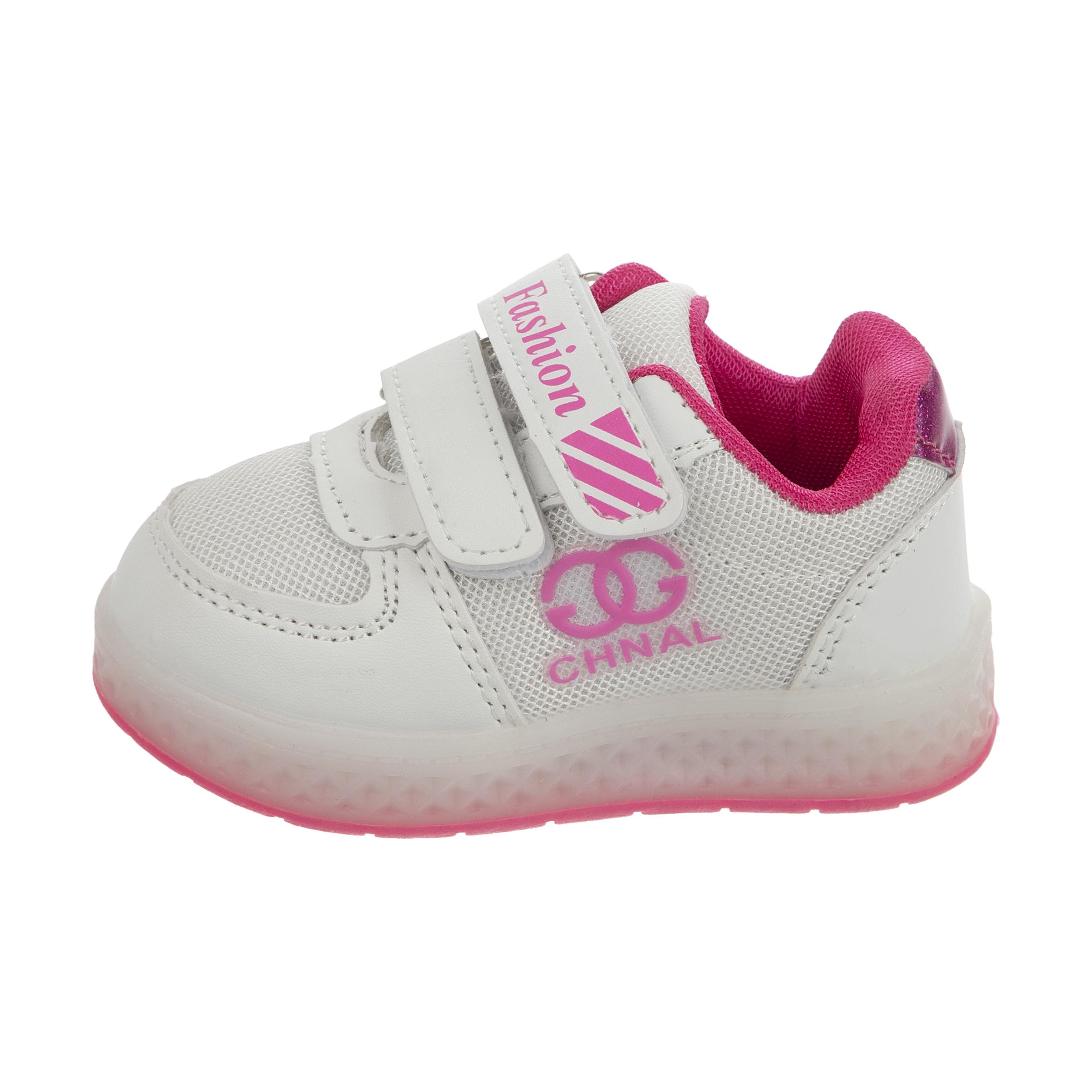 کفش راحتی چراغدار نوزادی کد 00023