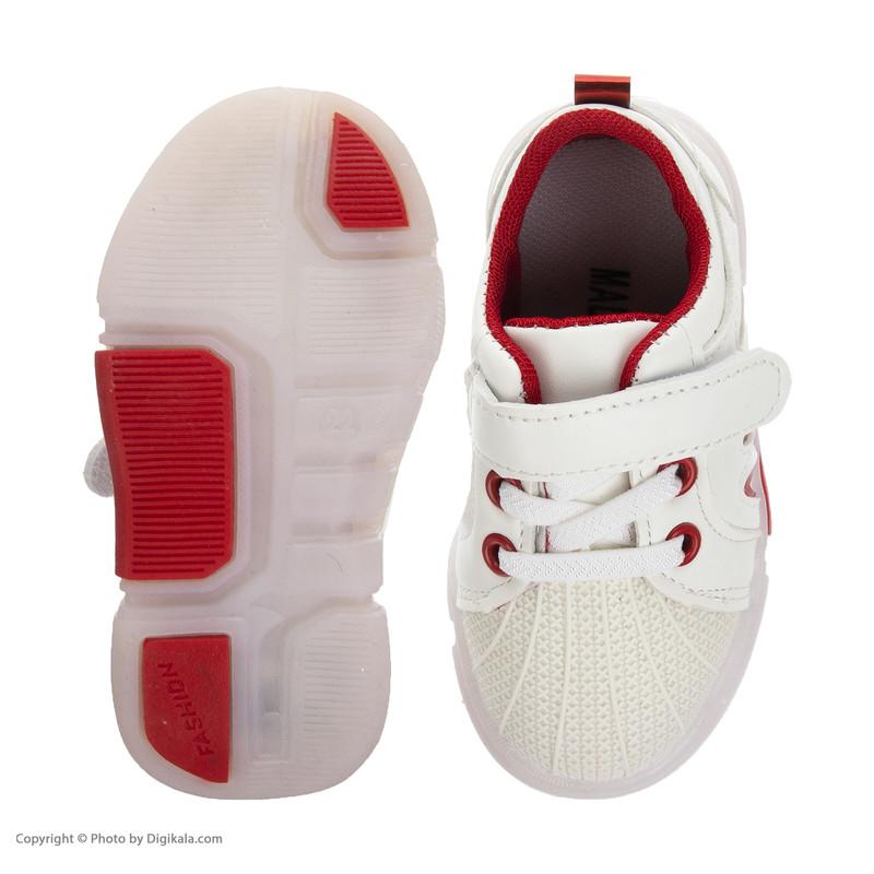 کفش راحتی چراغدار نوزادی کد 00042