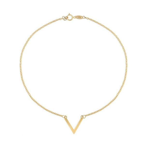 پابند طلا 18 عیار زنانه الن نار مدل eln538