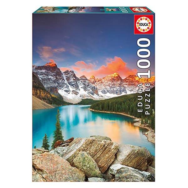 پازل 1000 تکه ادوکا مدل MORAINE LAKE, CANADA