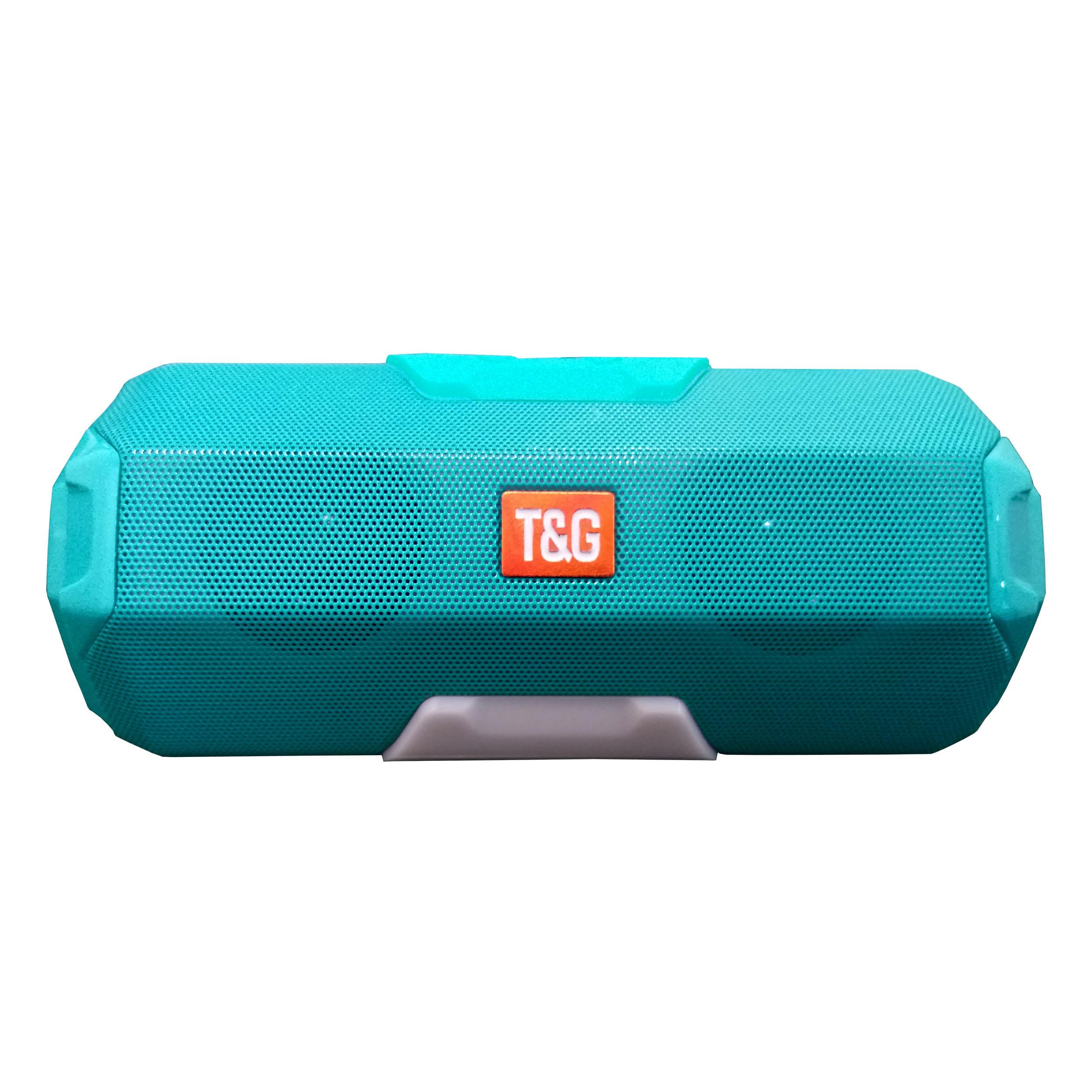 بررسی و {خرید با تخفیف}                                     اسپیکر بلوتوثی قابل حمل تی اند جی مدل TG-143                             اصل