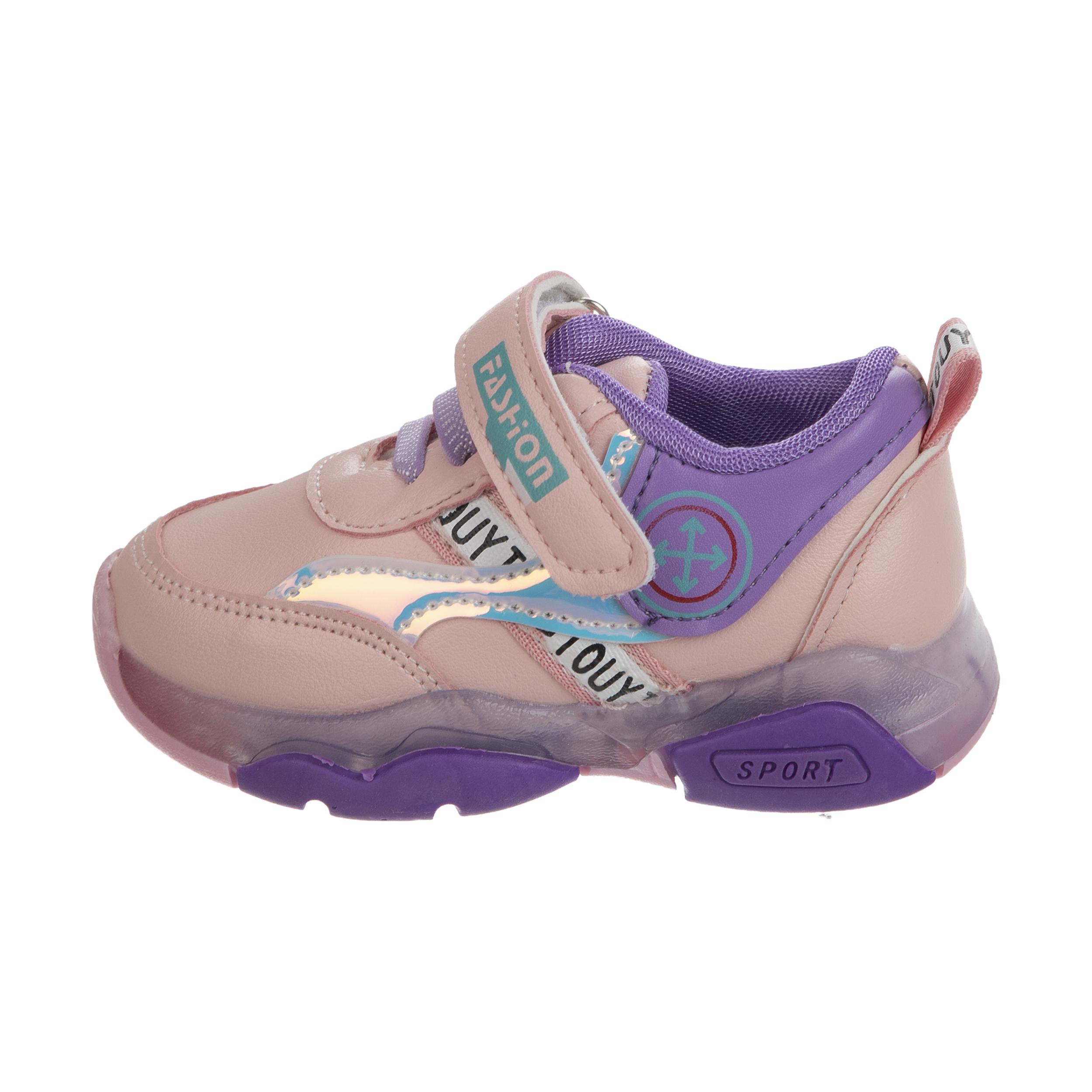 کفش راحتی چراغدار نوزادی کد 00027
