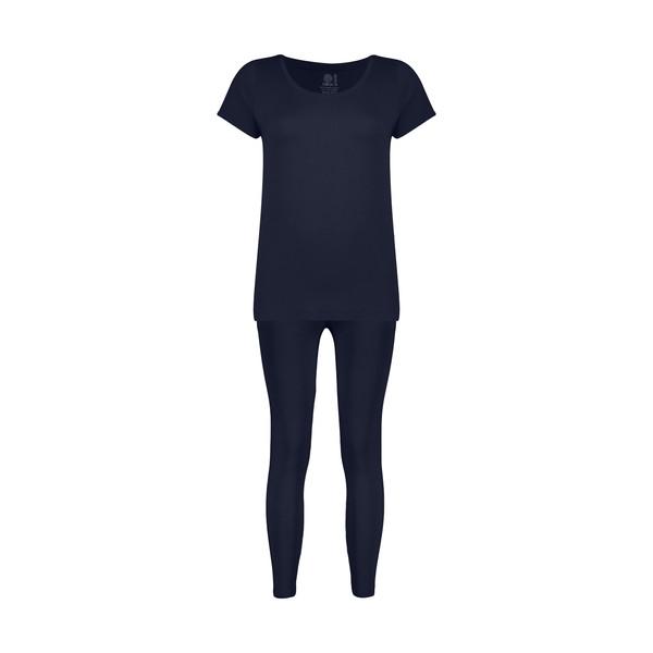 ست تی شرت و شلوار زنانه سون پون مدل 2391121-59