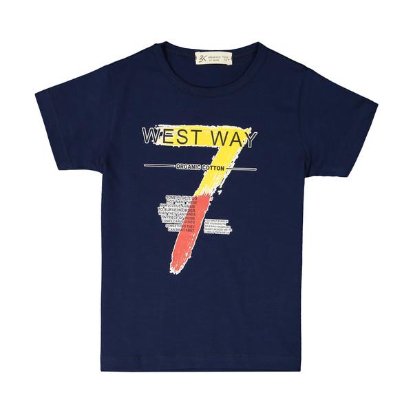 تی شرت پسرانه بی کی مدل 2211119-59