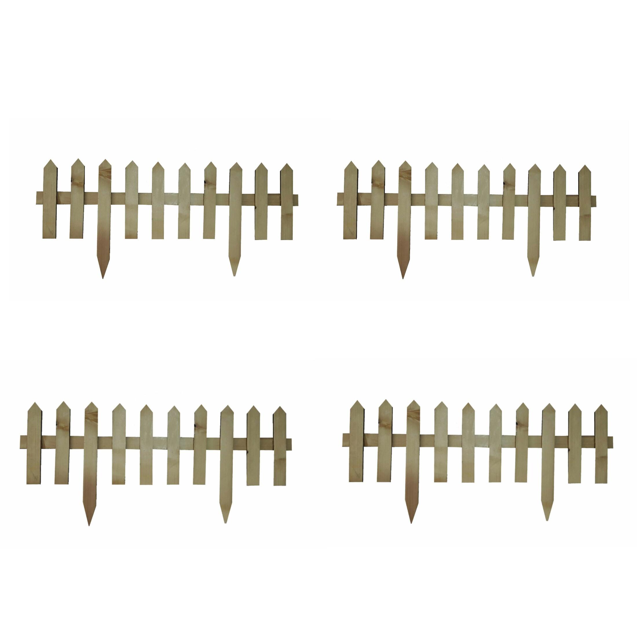 حصار باغچه مدل 21114 بسته ۴ عددی