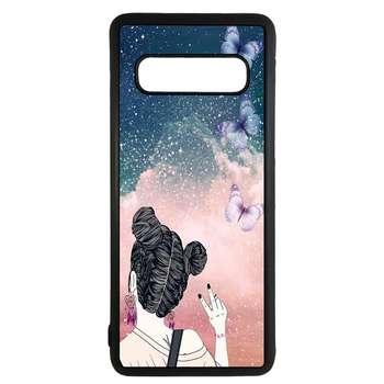 کاور طرح دختر کد 11050647 مناسب برای گوشی موبایل سامسونگ galaxy s10