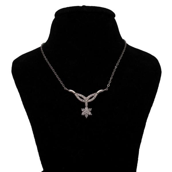 گردنبند نقره زنانه کد 215