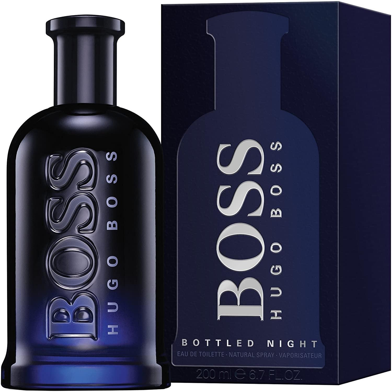 ادو تویلت مردانه هوگو باس مدل Boss Night حجم 200 میلی لیتر