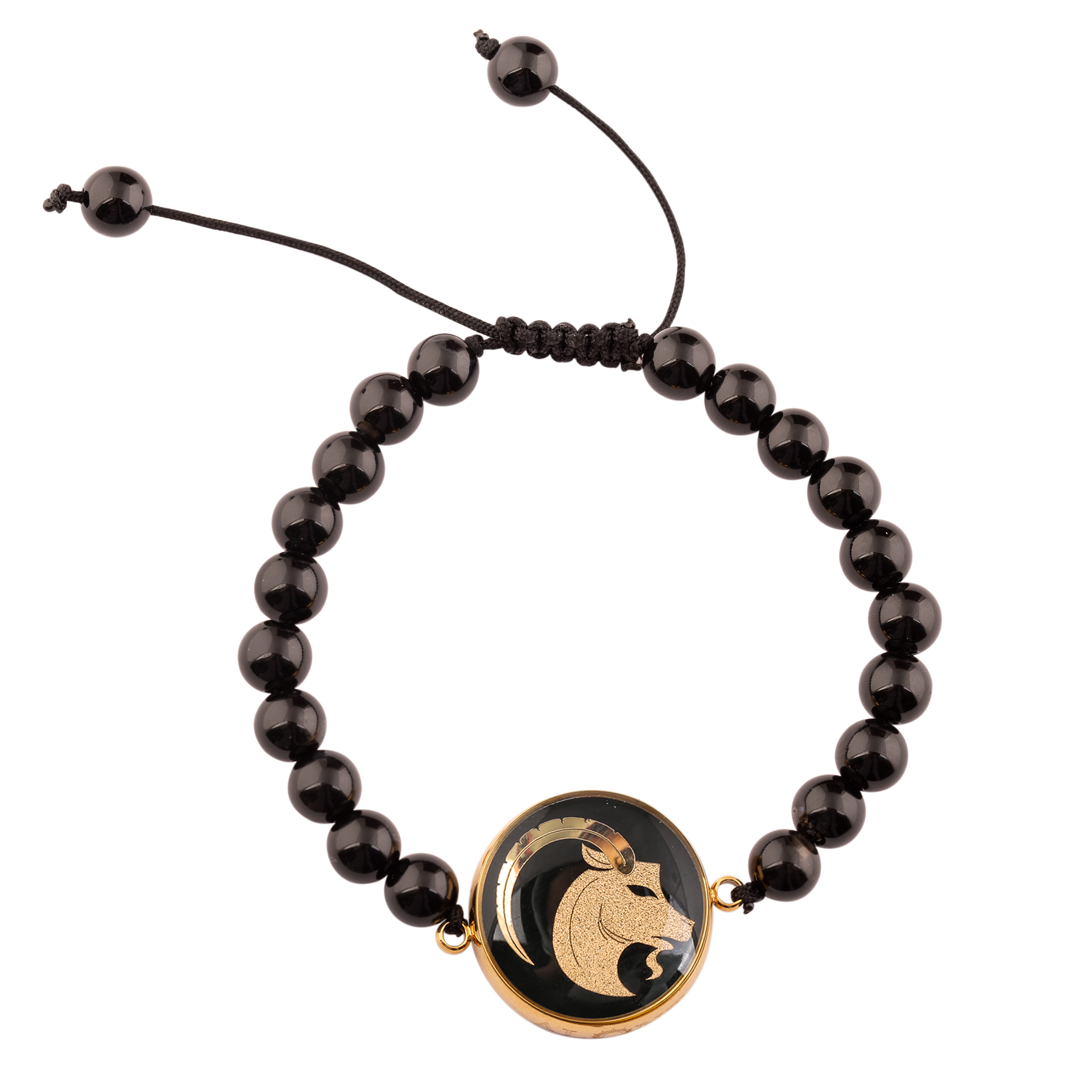 دستبند طلا 24 عیار زنانه الون طرح ماه دی