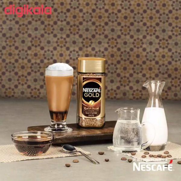 قهوه فوری نسکافه گلد مقدار 100 گرم main 1 5