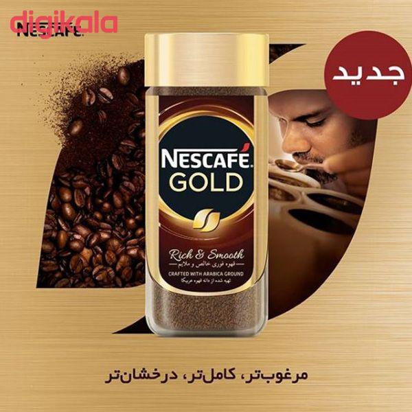 قهوه فوری نسکافه گلد مقدار 100 گرم main 1 6