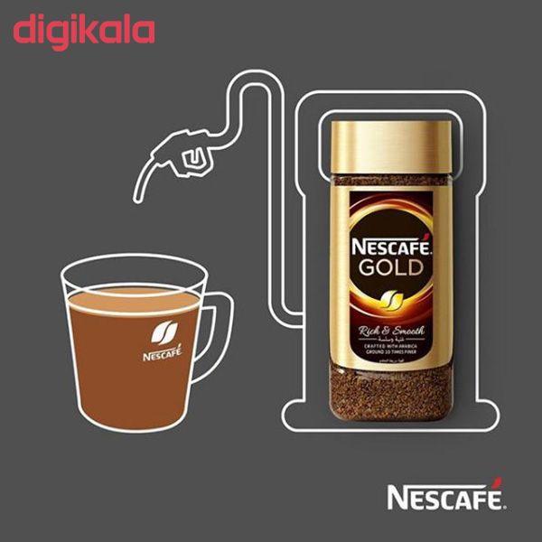 قهوه فوری نسکافه گلد مقدار 100 گرم main 1 8