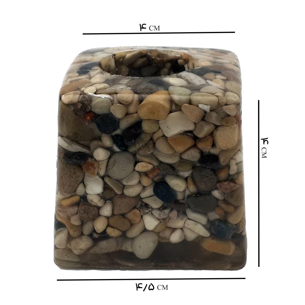 خرید                      جاشمعی مدل صخره کد SHC204Ri بسته 2 عددی