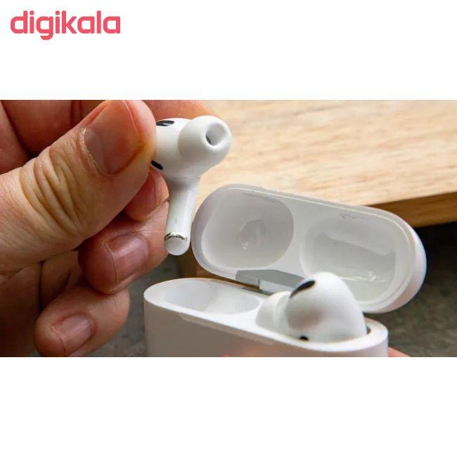 هدفون بی سیم اپل مدل AirPods Pro همراه با محفظه شارژ main 1 10