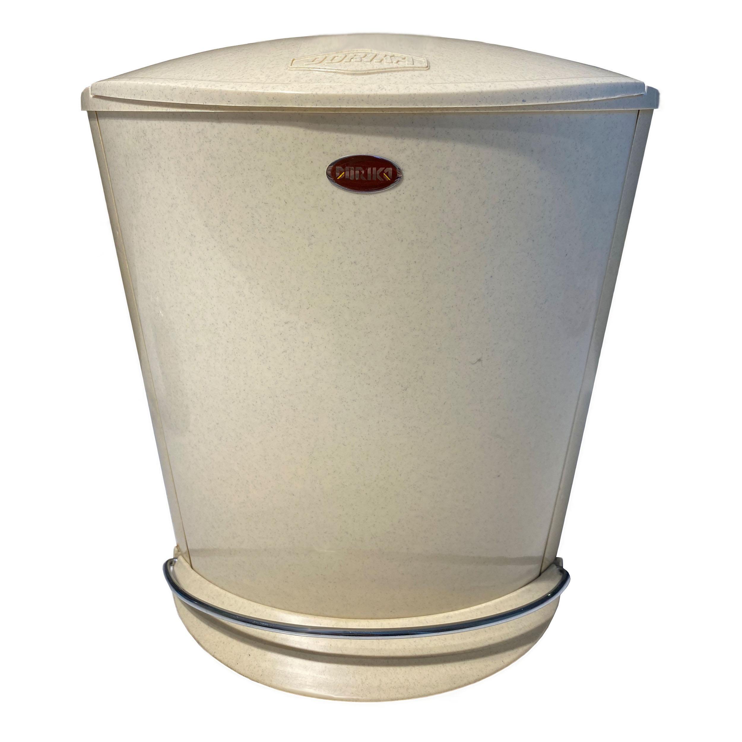 سطل زباله دوریکا مدل افرا کد 101 گنجایش 4 لیتر