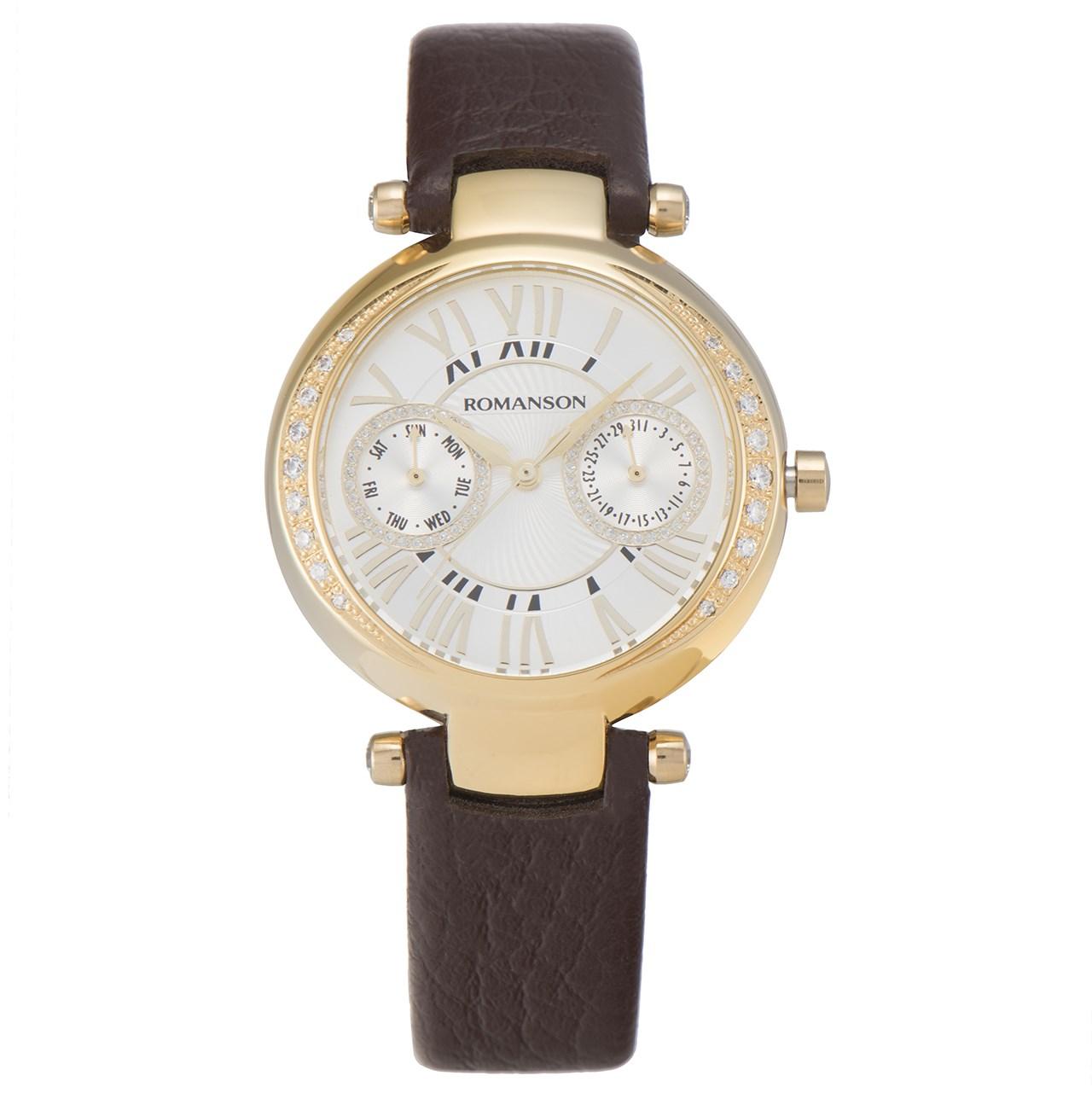 ساعت مچی عقربه ای زنانه رومانسون مدل RL2612QL1GAS1G 43