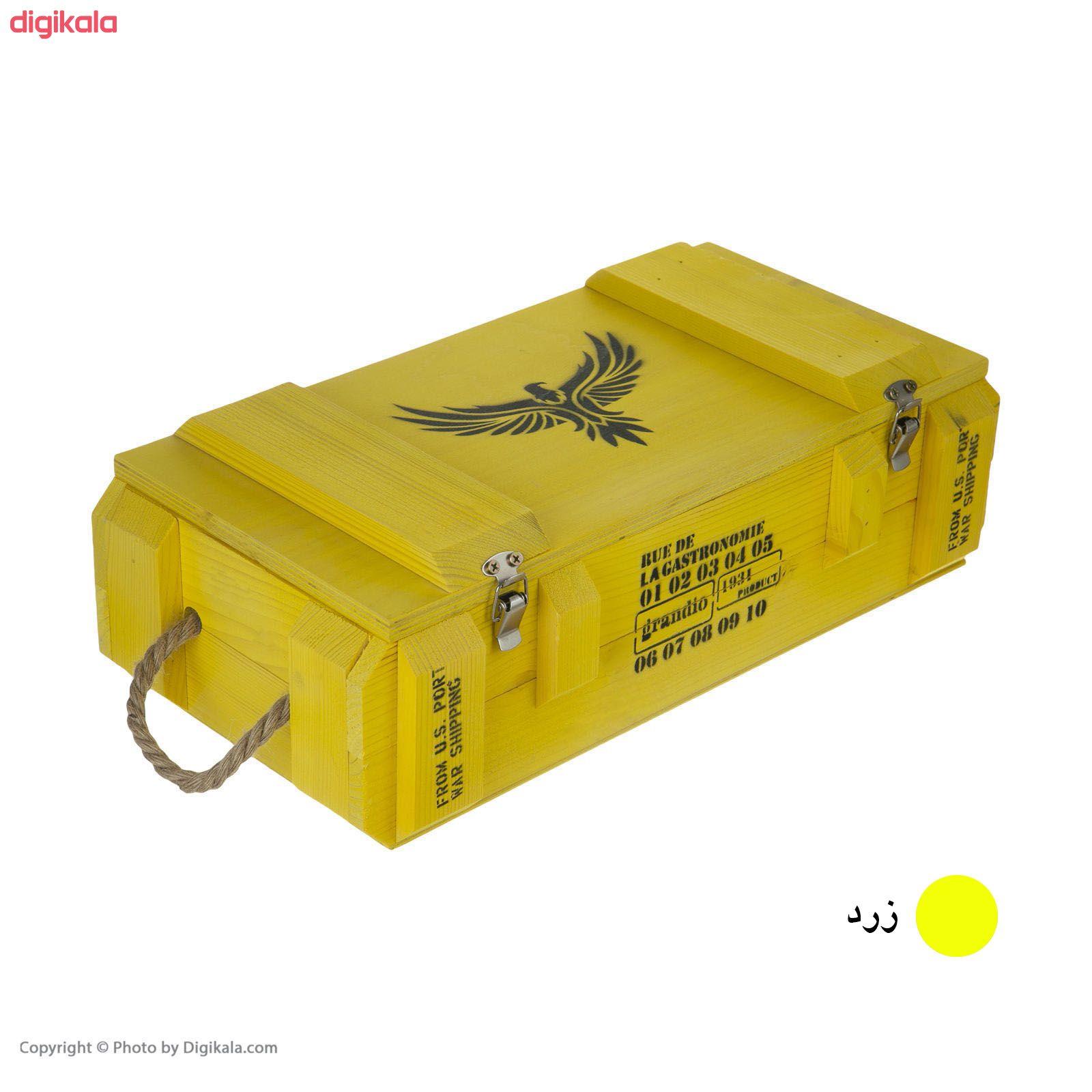 جعبه هدیه طرح جعبه مهمات مدل m33 main 1 7