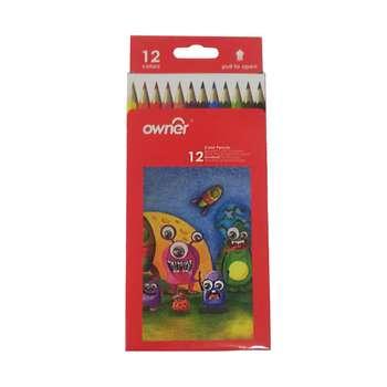 مداد رنگی 12 رنگ اونر مدل 14741