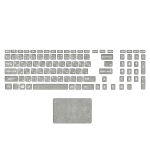 استیکر لپ تاپ صالسو آرت مدل mjr 1009 به همراه برچسب حروف فارسی کیبورد