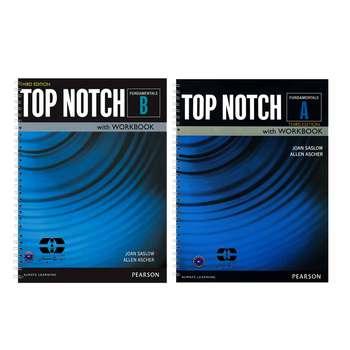 کتاب Top Notch Fundamentals اثر Joan Saslow And Allen Ascher انتشارات سپاهان 2 جلدی
