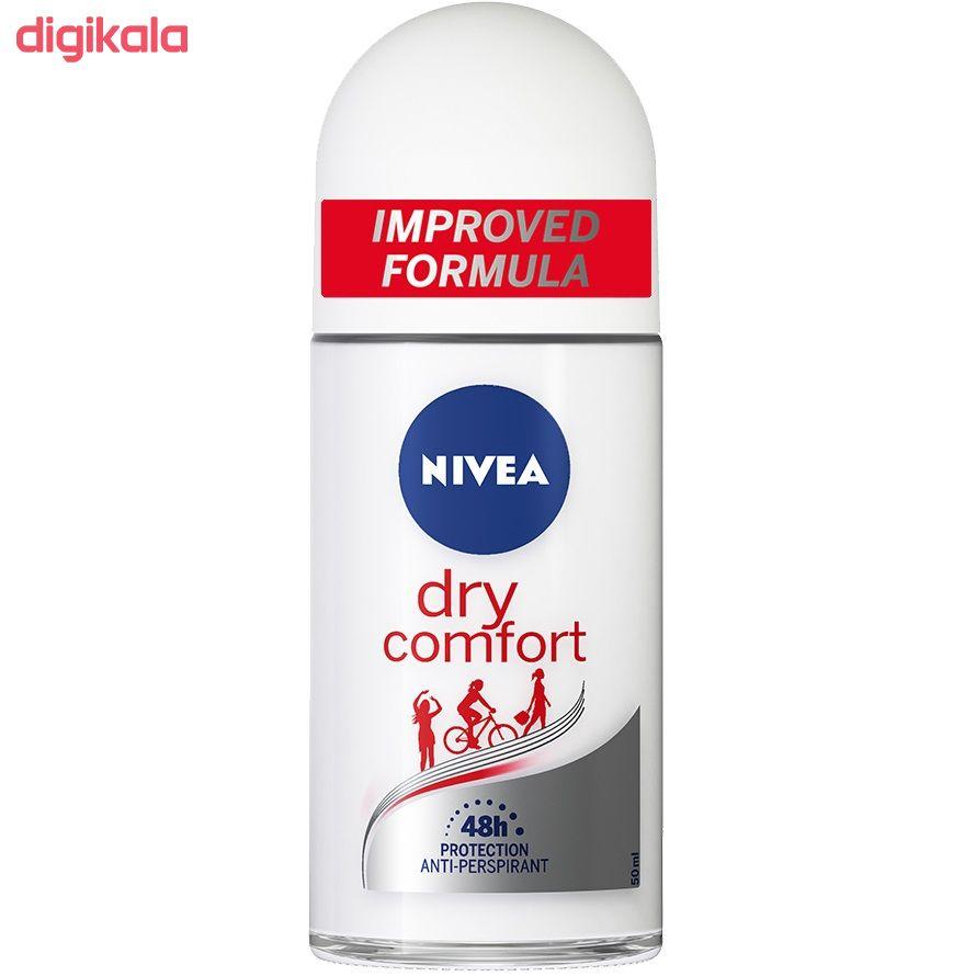 رول ضد تعریق زنانه نیوآ مدل Dry Comfort حجم 50 میلی لیتر main 1 1