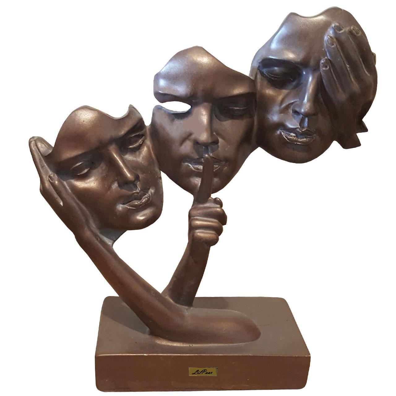 مجسمه لیلپار طرح سه رخ مدل DKH-7220 P