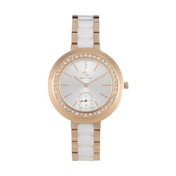 ساعت مچی عقربه ای زنانه کارلو پروجی مدل 2054